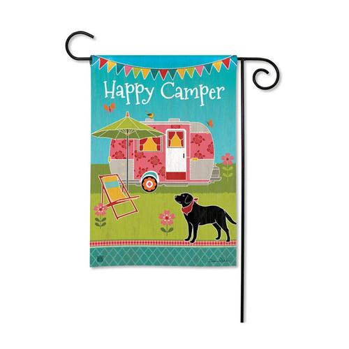Camping Garden Flag - Happy Camper