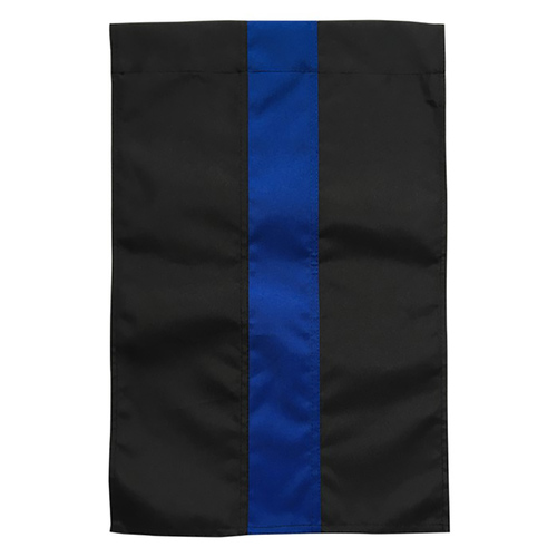 "Thin Blue Line Garden Flag 12"" x 18"""