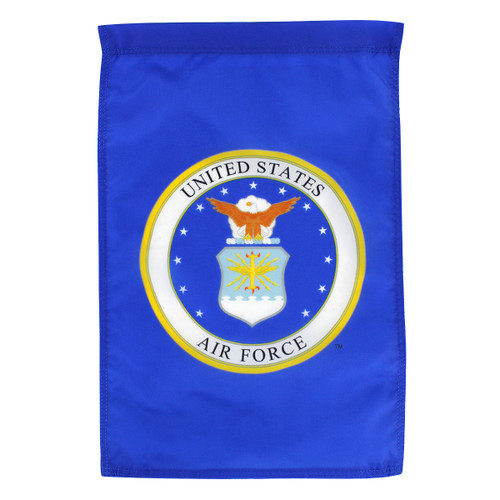 "Air Force Seal Garden Flag 12"" x 18"" Nylon"