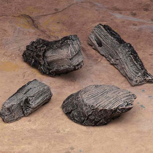 Four Piece Fireplace Bark Chip Kit