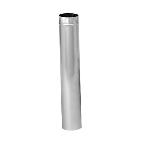 4'' x 24'' Rigid Aluminum Dryer Vent Pipe Case of 25