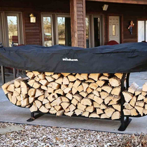Woodhaven Courtyard Firewood rack