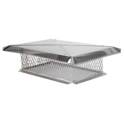 13'' x 24'' Gelco Stainless Steel Chimney Cap