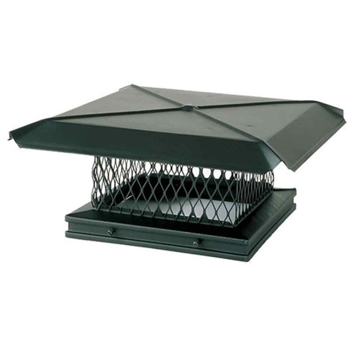 8'' x 17'' Gelco Galvanized Chimney Cap