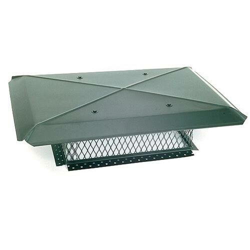 17'' x 17'' Gelco Galvanized Multi-Flue Chimney Cap