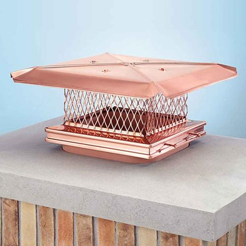 8''x17'' Gelco Copper Chimney Cap