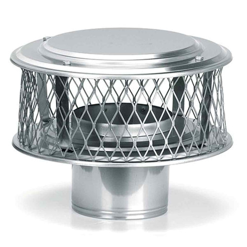 4'' Round HomeSaver Pro 316-SS Stainless Guardian