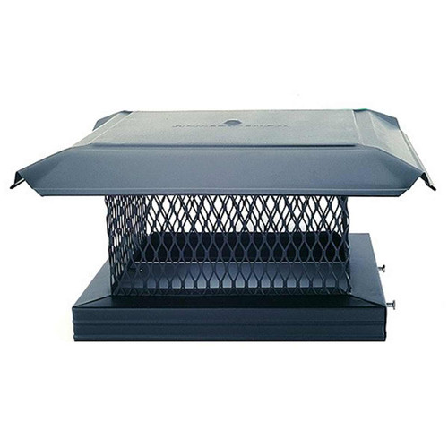 8'' x 17'' Homesaver Pro Galvanized Chimney Cap