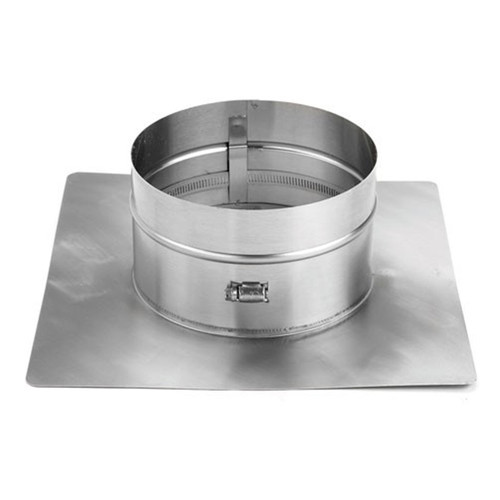 8'' HomeSaver 18'' x 18'' Collar Plate with Band Connection