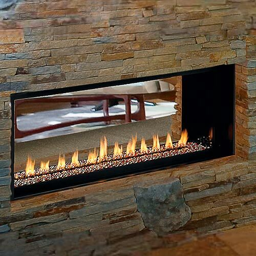 Superior 43'' Linear Fireplace Vent Free Fireplace - LP