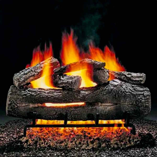 24'' Hargrove Fire Oak Vented Gas Logs - Logs Only