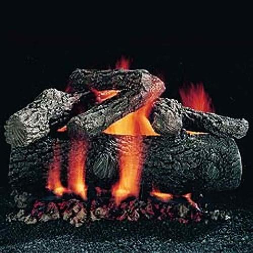 24'' Hargrove Premium Fire Oak Vented Gas Logs - Logs Only