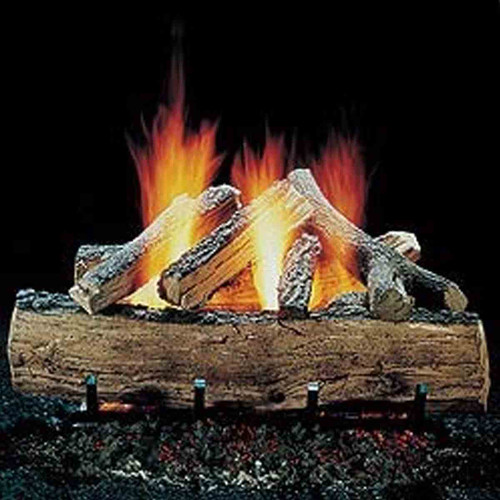 24'' Hargrove Seasoned Split Oak Vented Gas Logs - Logs Only