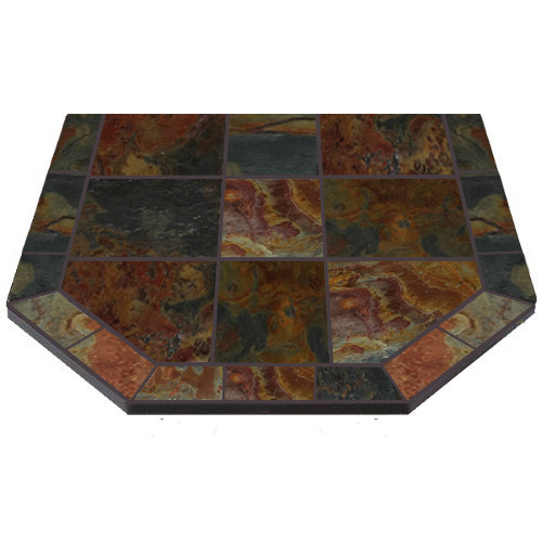 48'' X 48'' Double Cut Asian Slate American Panel Stove Board