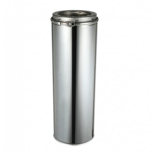 """EcoVent USA 6 """"x 24 """" Chimney Pipe"""