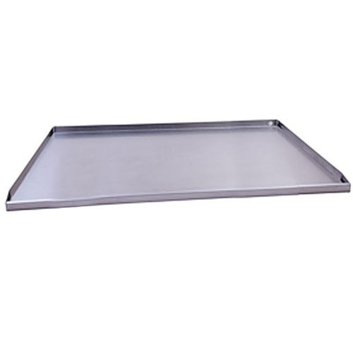 36'' Fireplace Drain Pan with 1'' Stainless Steel Decorative Face Extension