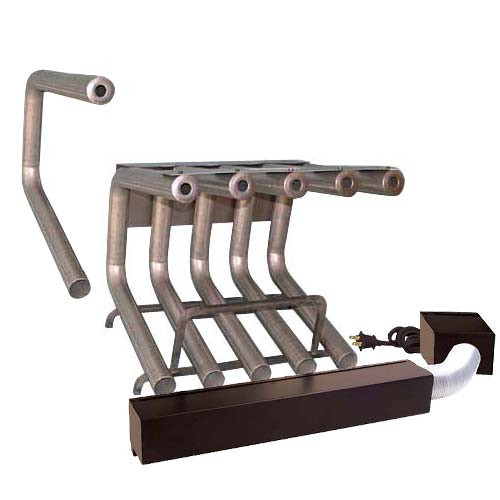7 Tube Fireplace Heater-With Blower