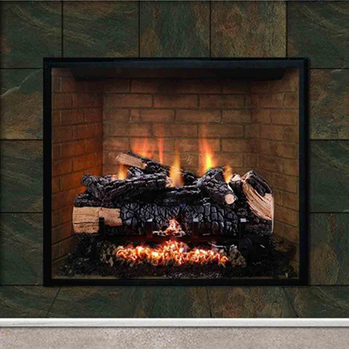 24'' Cumberland Charred Gas Log Set w/Variable Flame - NG