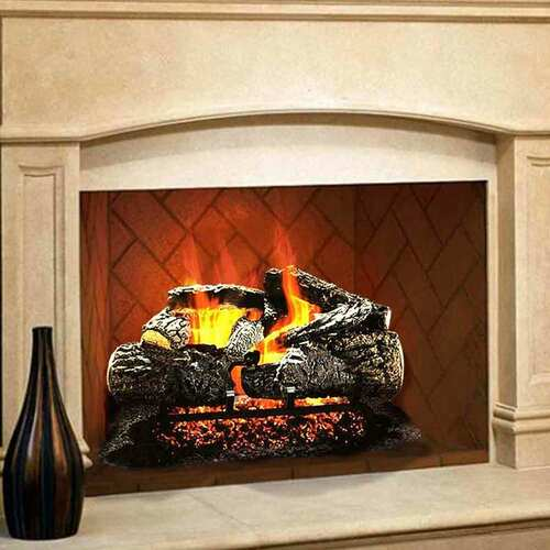 24'' Cross Timbers Vented Gas Log Set-Natural Gas