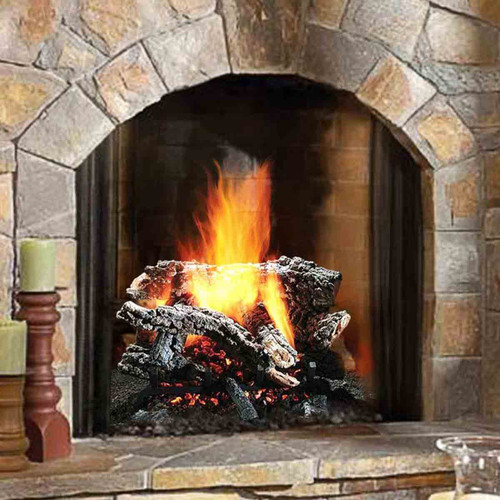 24'' Canyon Wildfire Vented Gas Log Set-Natural Gas