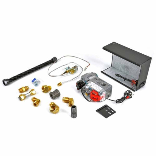 Hearth Products Controls Natural Gas Quick Mount Millivolt Valve Kit
