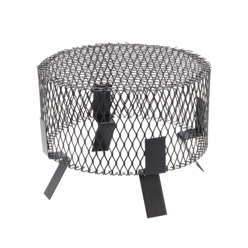 14'' Round Galvanized Spark Arrestor and Animal Screen