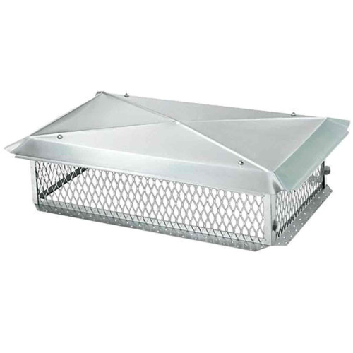 17'' x 17'' Stainless Steel Multi-Flue Chimney Cap