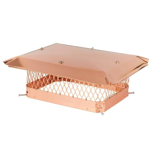 13'' x 18'' Copper Single Flue Chimney Cap
