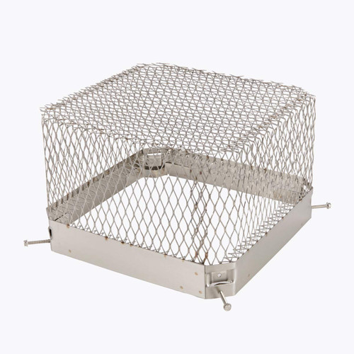 13'' x 13'' Stainless Steel Raccoon Screen