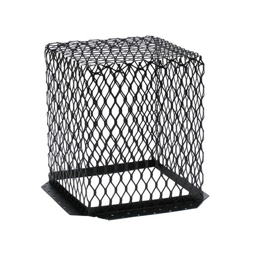 11'' x 11'' Black Galvanized Animal Control Screen