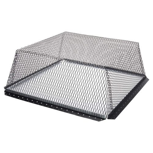30'' x 30'' Black Galvanized Animal Control Screen