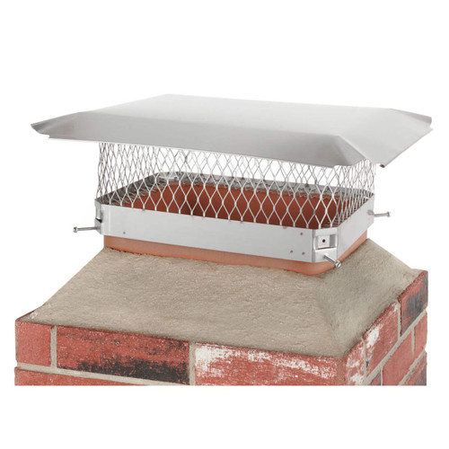 13'' x 18'' Hy-C Stainless Chimney Cap