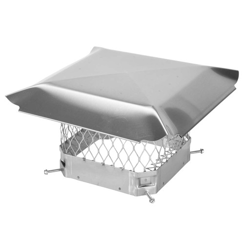 9'' x 9'' Hy-C Stainless Chimney Cap