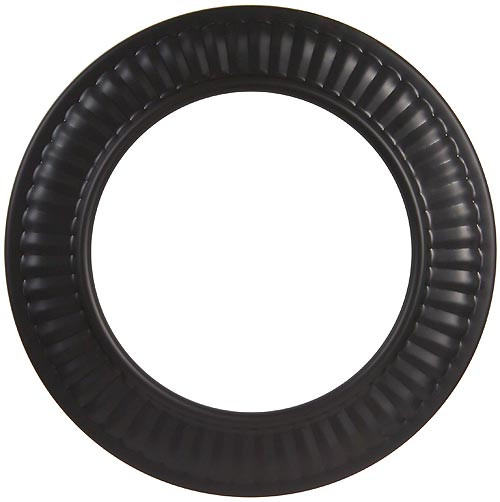 5'' 24-Ga. Snap-Lock Black Trim Collar