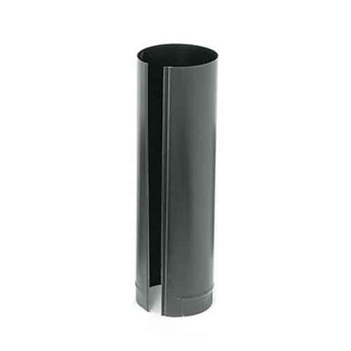 8'' x 24'' 24-Ga. Snap-Lock Black Stovepipe