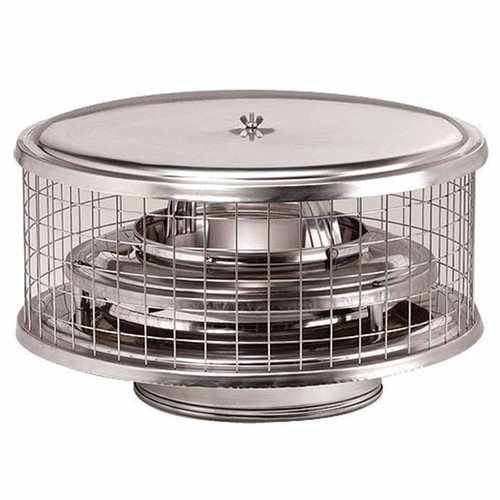 9'' Weathershield Air Cooled Chimney Cap