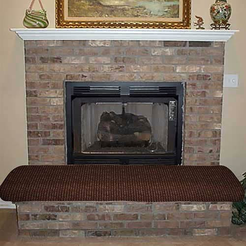 Hearth Protector Seat Up to 5 Feet Long