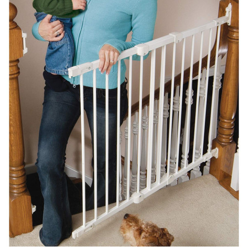 KidCo Angle Mount Safeway Gate - White