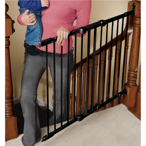 KidCo Angle Mount Safeway Gate - Black