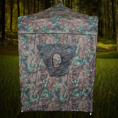 5' X 5' Hunting Blind & Instant Pop Up Tent - Camo