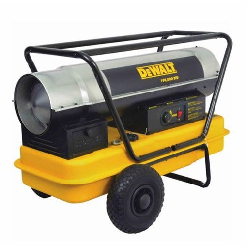 DeWalt 190,000 BTU Heavy Duty Forced Air Kerosene Heater