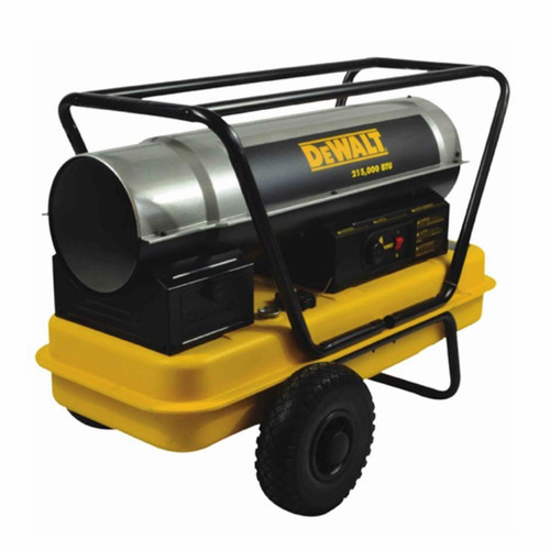 DeWalt 215,000 BTU Heavy Duty Forced Air Kerosene Heater