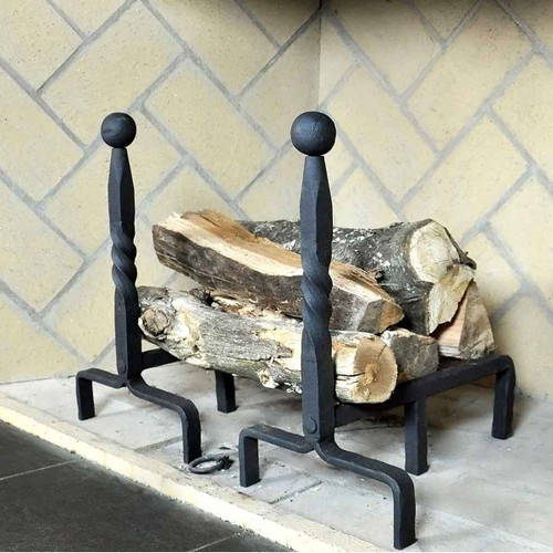 Ball End Fireplace Andirons