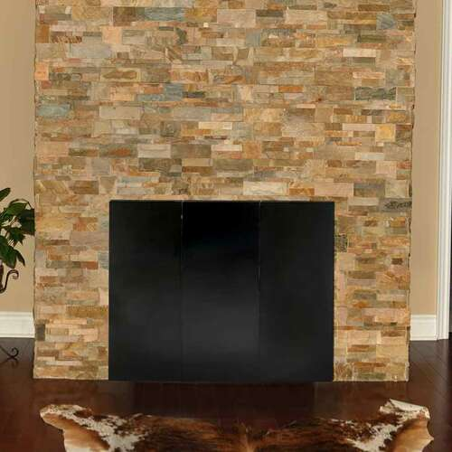 40'' x 32'' Fireplace Draft Guard Cover