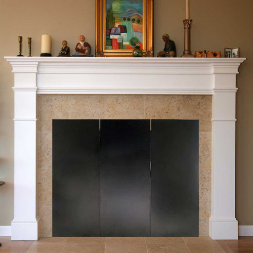 47'' x 34'' Fireplace Draft Guard Cover