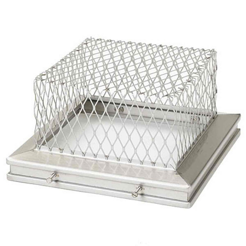 8'' x 13'' Gelco Stainless Steel Animal Guard