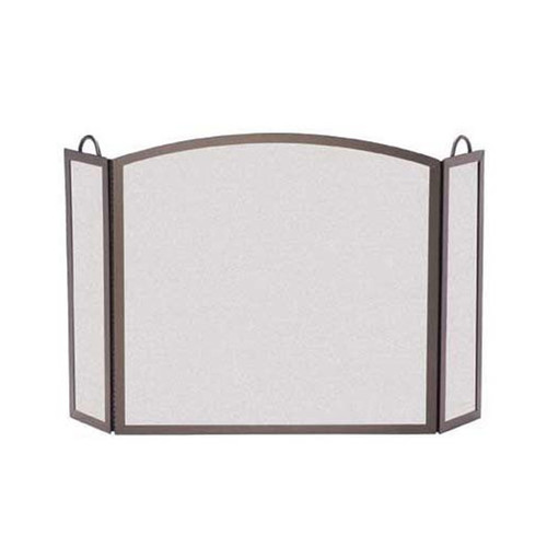 Pilgrim Full Arch Three Panel Screen - Bronze