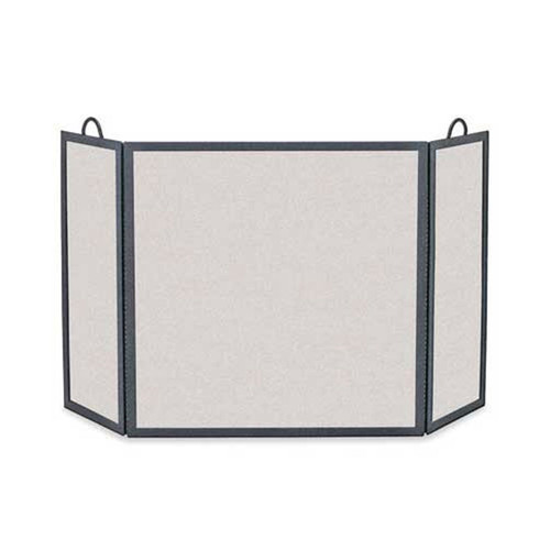 Pilgrim Rectangular Three Panel Fireplace Screen