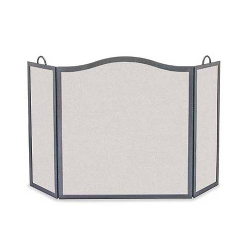 Pilgrim Camelback Arch Three Panel Fireplace Screen