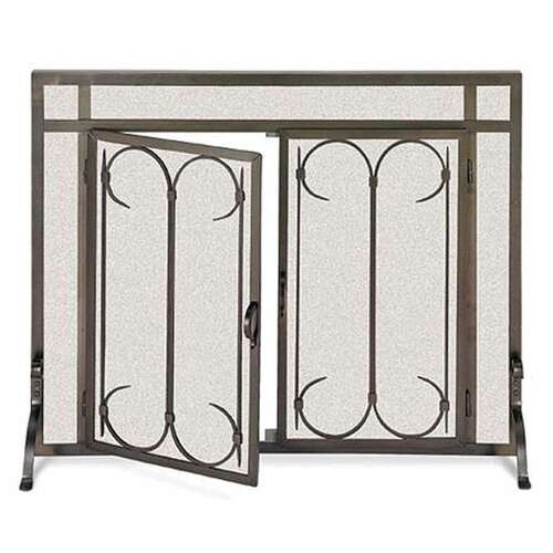 Pilgrim Iron Gate Screen w/Doors - BB